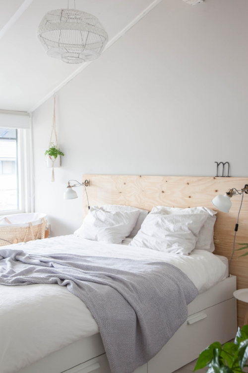 Plywood Bed DIY for the Bedroom