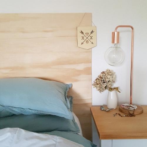 DIY Plywood Bedframe