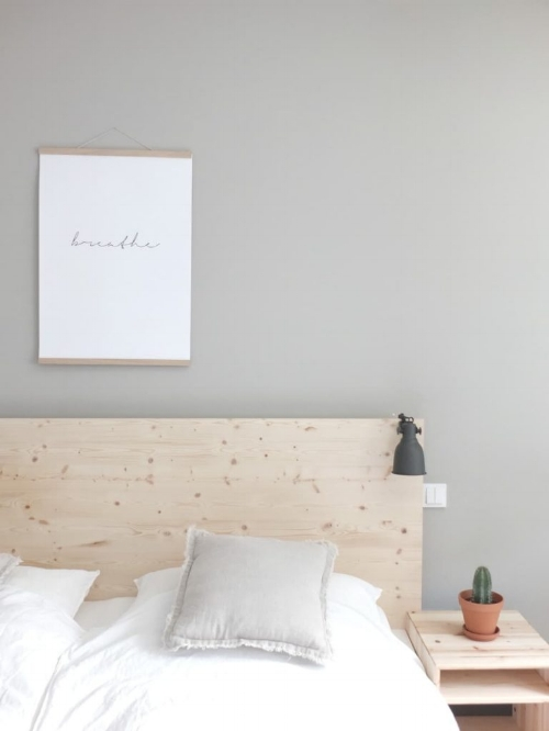 Plywood Bed for the Bedroom