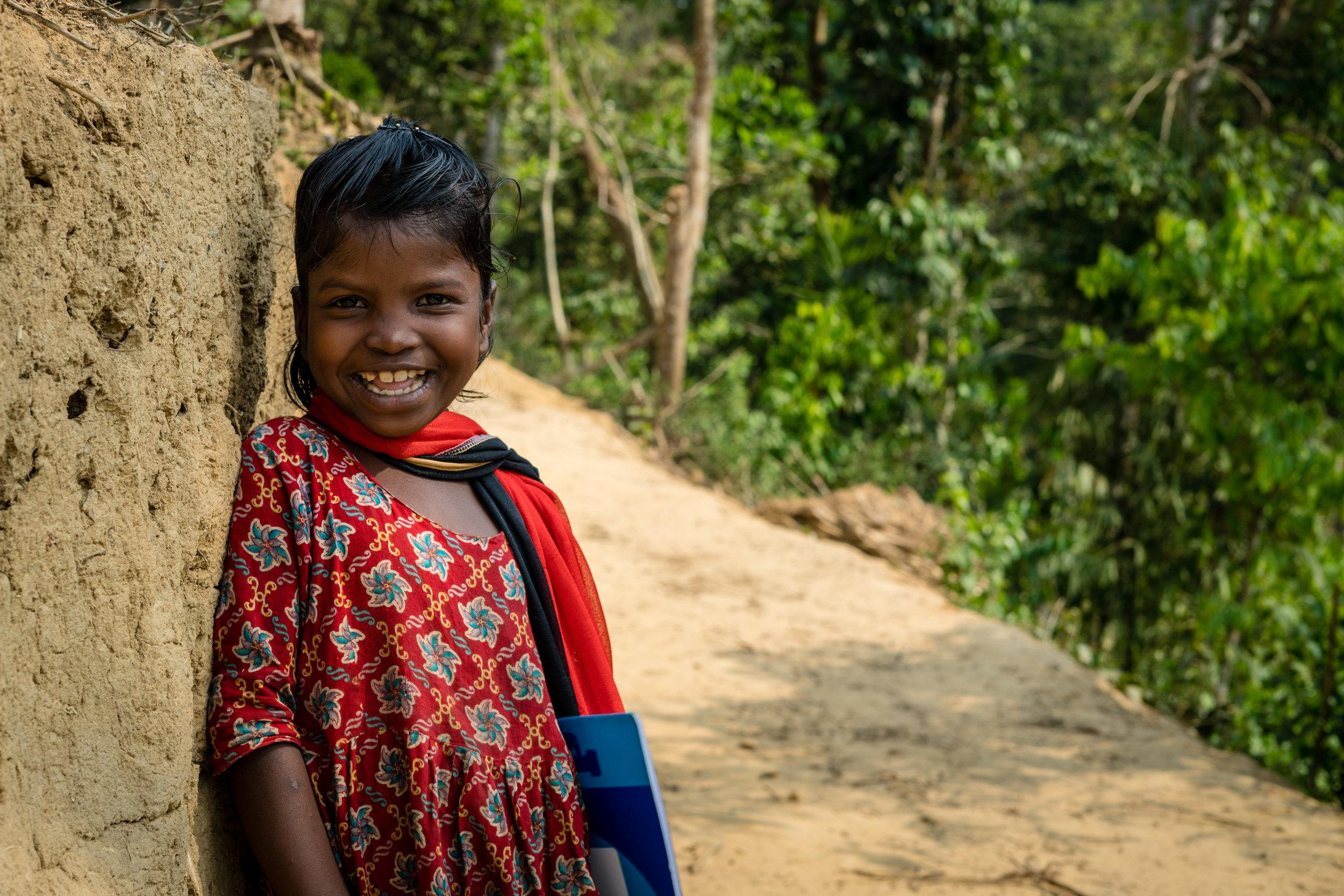 Bangladeshi girl goes to school | Bangladesh   ©LaurenKanaChan