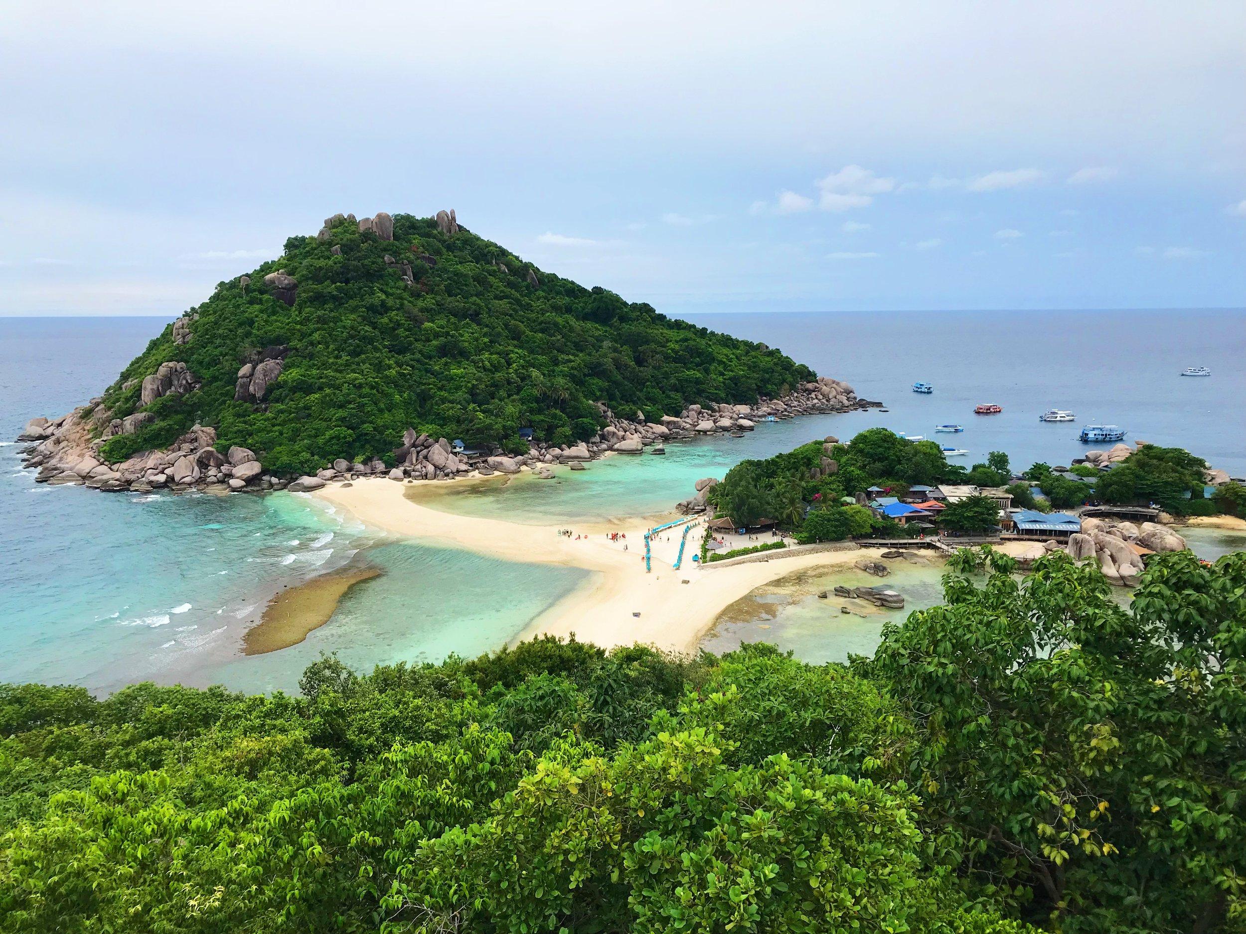 View point at Koh Nangyaun