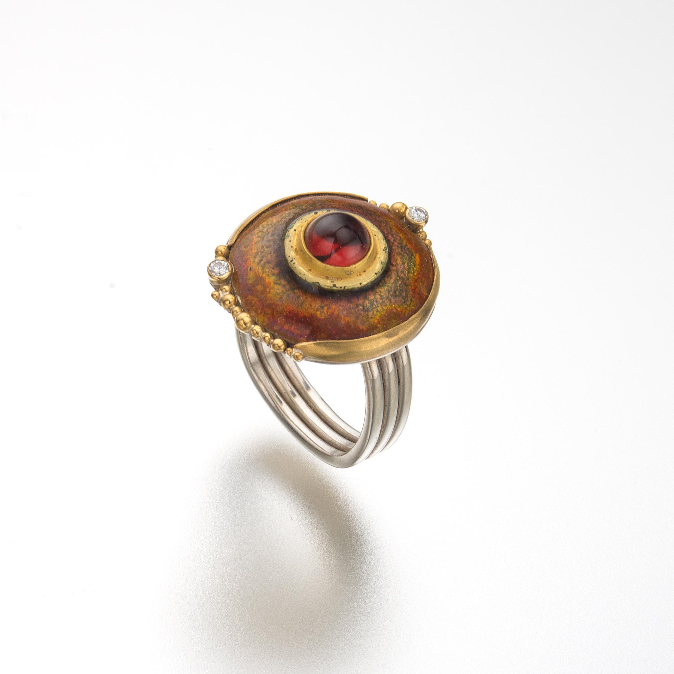 Enamelled garnet ring.jpg
