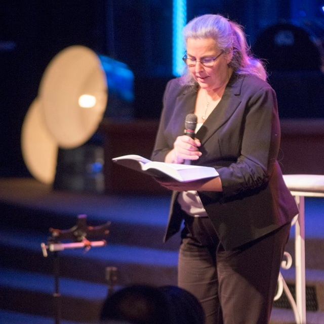 Pastor Patti at District Assembly 2018