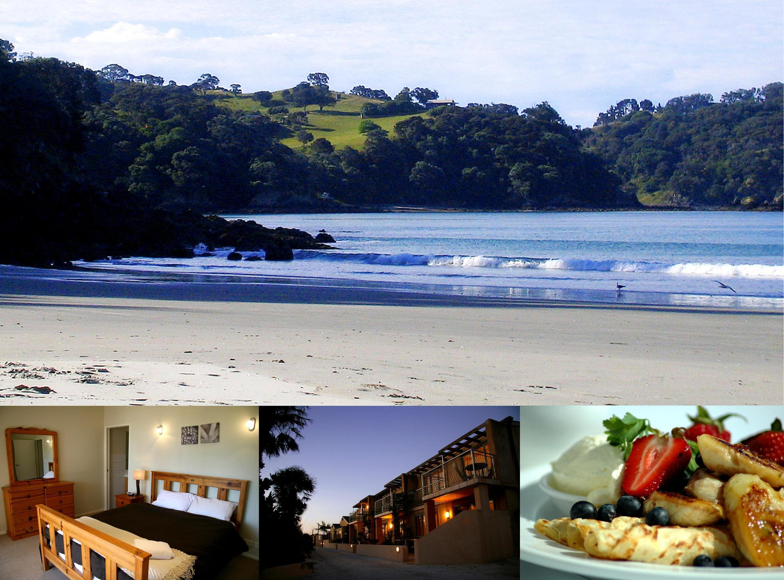 Onetangi Beach Apartments  two nights accommodation (value way over $400). This is located on the best beach on what is rated as one of the best Islands in the world and you get to stay here with your partner for a couple of nights….heaven