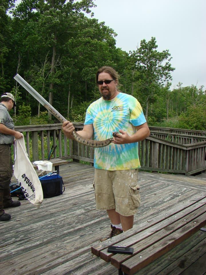 Todd Georgel, The Urban Herpetologist