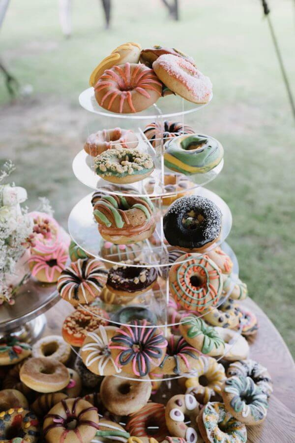 Katielous Cakes | El & Pauls Wedding donut tower.jpg