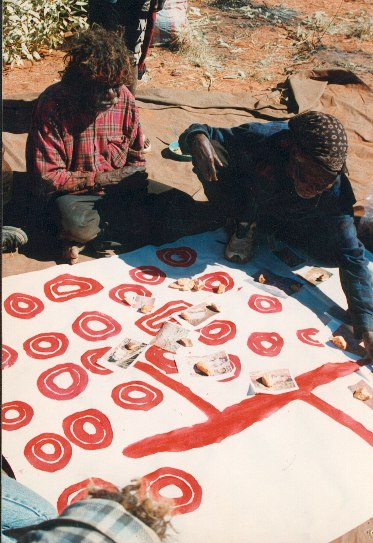 Mapping traditional ecological knowledge, Gibson Desert, 1999.
