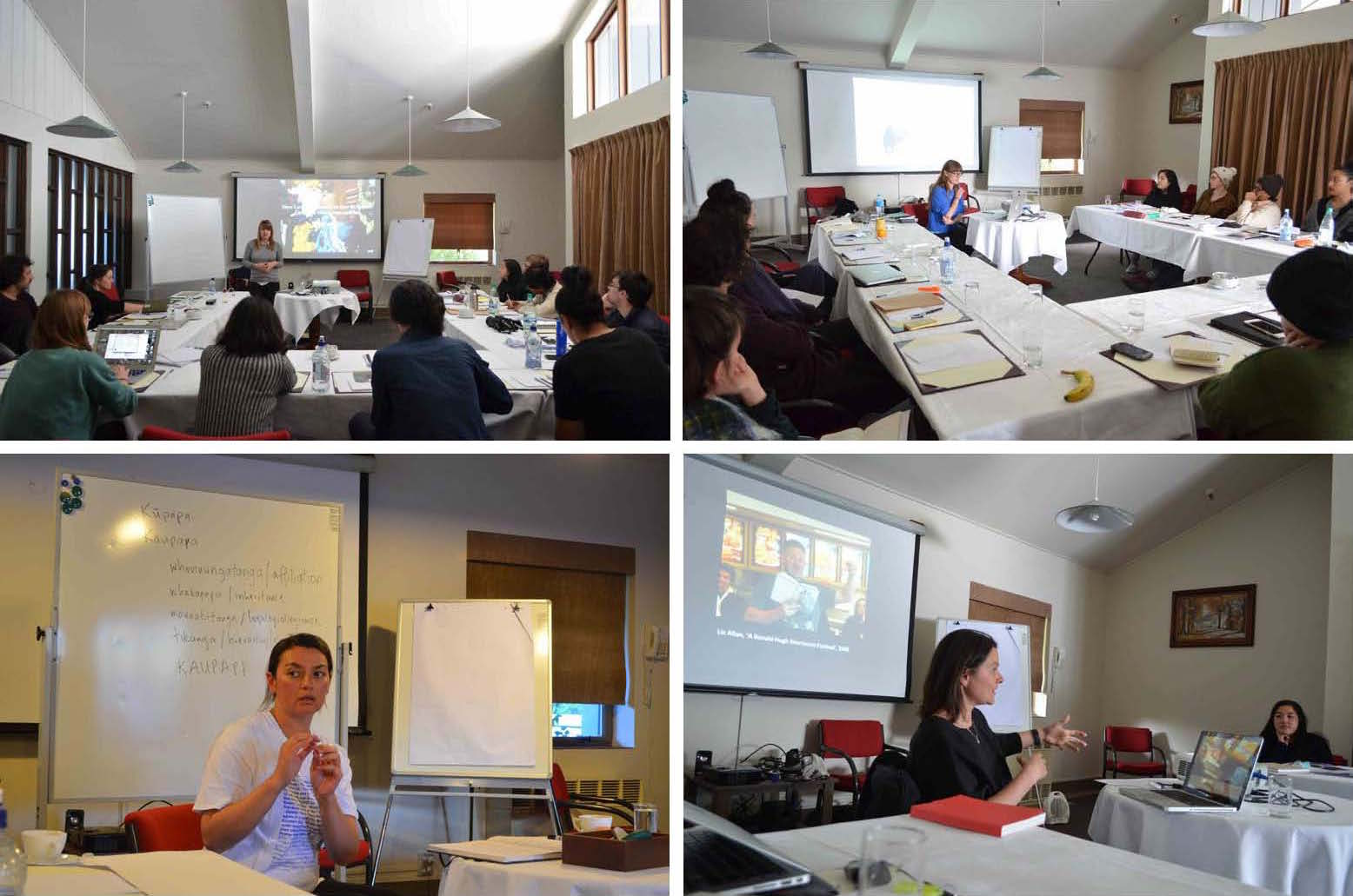 Seminars by presenters at Aoraki Mt Cook Village, 12-15 November, 2015.