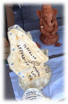 "Mother Mold"" with original sculpture of ""Ganesha"""