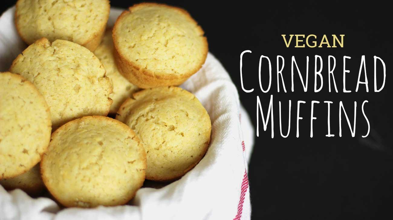 Vegan Cornbread Muffins