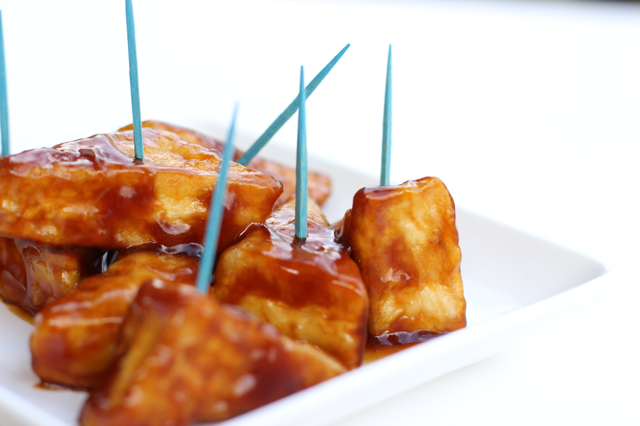 Crispy Sweet and Sour Tofu