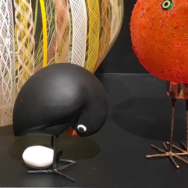 Despite an intellectually hilarious trip around the Sculptureum with much bigger pieces The Little Bird was my favorite. @sculptureum.nz #DarkoSosaOfHvar #Remindsmeofcroatia