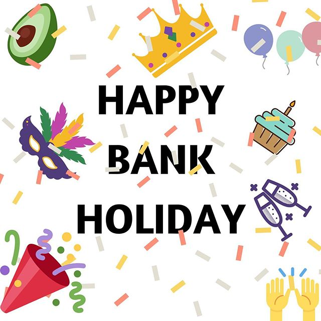 It's BANK HOLIDAY MONDAY 🎉⠀ ⠀ Wishing all my #londoners a very happy bank holiday. ⠀ ⠀ Happy Days 😘⠀ ⠀ ⠀ #bankholidays⠀ #chemicalsensitivity ⠀ #chemicalsafety⠀ #plantbasedliving ⠀ #plasticfree⠀ #investinyou #loveyourskin #plantpoweredbeauty #naturalbeautyproducts #loveyourpits #freedomofpits #chooseyou #gonatural #vegancommunity #whatsinsidecounts #takecareofyourself #natureinspired ⠀ #cleanbeauty #crueltyfree #toxicfree #chemicalfree⠀ #wisewords #girlboss ⠀ #supportwomeninbusiness⠀