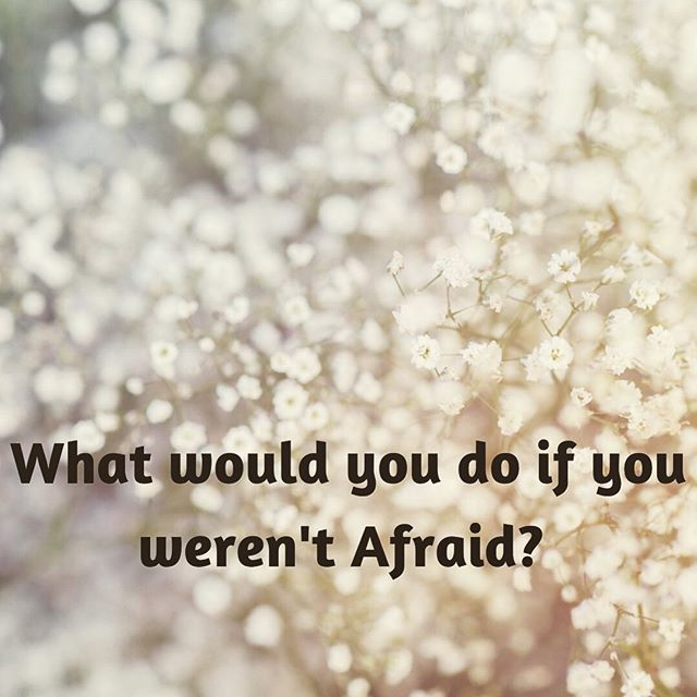 Happy Tuesday 🙌🏽⠀ ⠀ I stumbled across this question the other day and I haven't been able to get it off my mind. ⠀ ⠀ It's making me think a lot about the opportunities I'm not taking because of fear 🙄⠀ #timeforchange⠀ :⠀ :⠀ ⠀ How about you? ⠀ What would you do if you wasn't afraid 🤔#livecourageously ⠀ 💪🏾✌🏽 ⠀ ⠀ ⠀ #chemicalsensitivity ⠀ #chemicalsafety⠀ #plantbasedliving ⠀ #plasticfree⠀ #investinyou #loveyourskin #plantpoweredbeauty #naturalbeautyproducts #loveyourpits #freedomofpits #chooseyou #gonatural #vegancommunity #whatsinsidecounts #takecareofyourself #natureinspired ⠀ #cleanbeauty #crueltyfree #toxicfree #chemicalfree⠀ #wisewords #girlboss ⠀ #supportwomeninbusiness⠀ #womenpreneur⠀