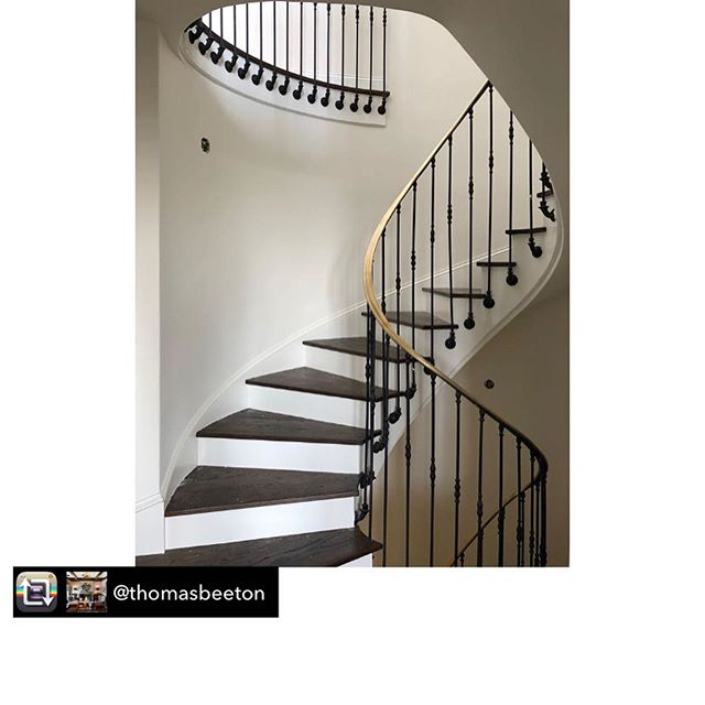 Before and after photos reposted from @thomasbeeton  Beautiful stairway from our 1920s remodel! . . . #stairsdesign #beforeandafter #homeremodeling #customconstruction #homeconstruction #luxuryconstruction #southerncaliforniahomes #malibu #la #venicebeach #santamonica