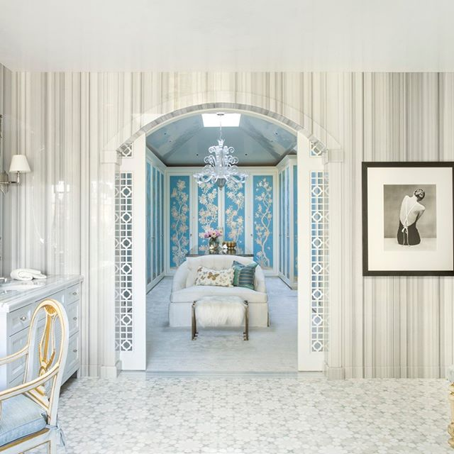 "Christine Markatos Design described this master bathroom as ""A Moroccan-style retreat with a mix of antiques and modern elements."" We're lucky to have worked with her on this house, and that it was featured in Luxe Magazine! See which other magazines have featured us by following the link in bio! . . . . . #constructioncompany #highendconstruction #residentialarchitecture #residentialconstruction #luxuryhome #architectureinspiration #customconstruction #customarchitecture #homeinspo #malibuhomes #malibu #santabarbara #la #venicebeach #palosverdes #interiordesign #bathroomdesign #bathroomgoals #Moroccanstyle #LuxeMagazine"