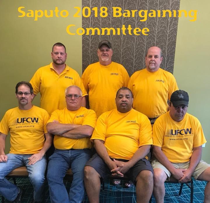 Saputo Bargaining Committee 2018