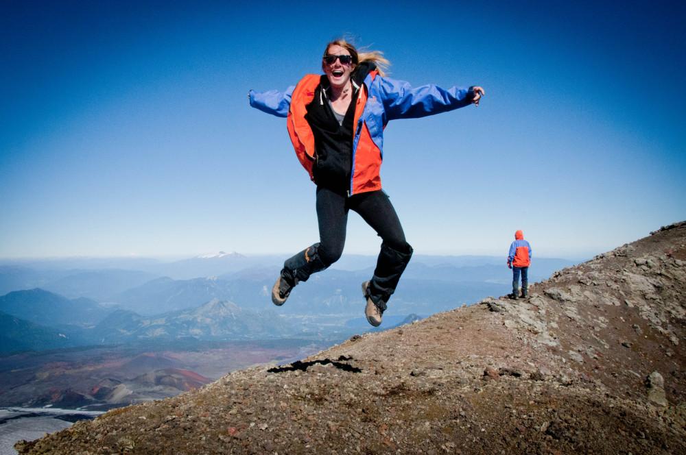 Volcan Villarrica - Lindsay Lewis - Rosie Sunday