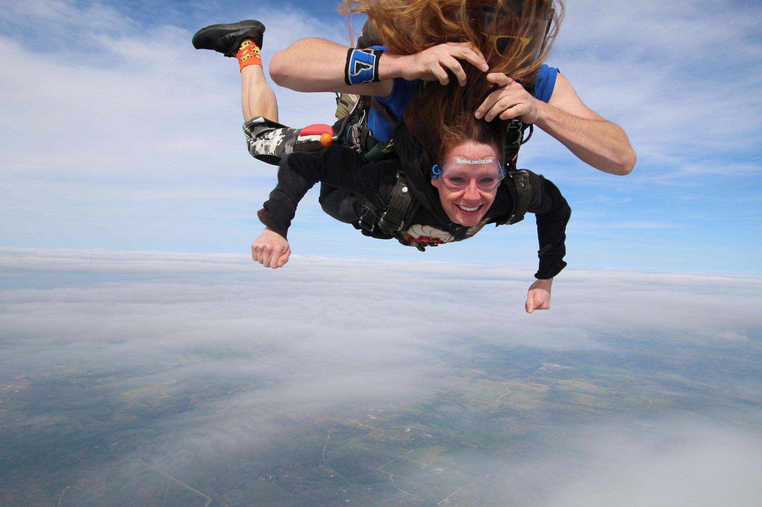 Lindsay Lewis - Skydive Lone Star - Rosie Sunday