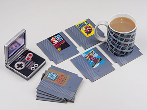 Nintendo Cartridge Coasters
