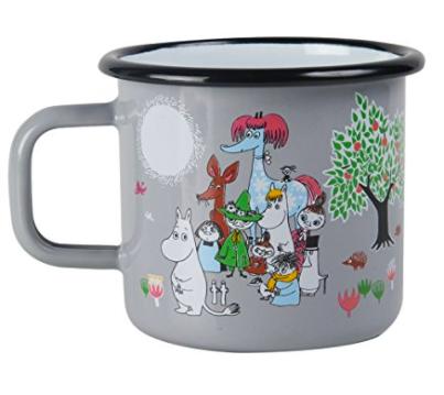 Moomins Enamel Mug