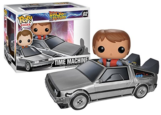 Funko POP Back to the Future Delorean