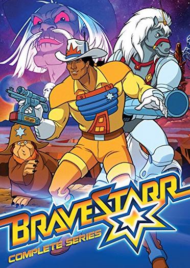 Bravestarr DVD