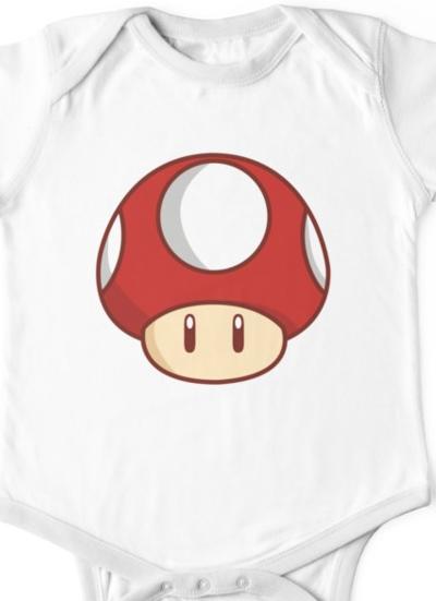 Mario Mushroom Baby