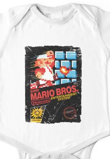 Super Mario NES Baby