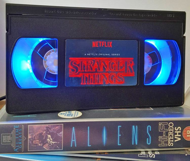 Stranger Things VHS Lamp