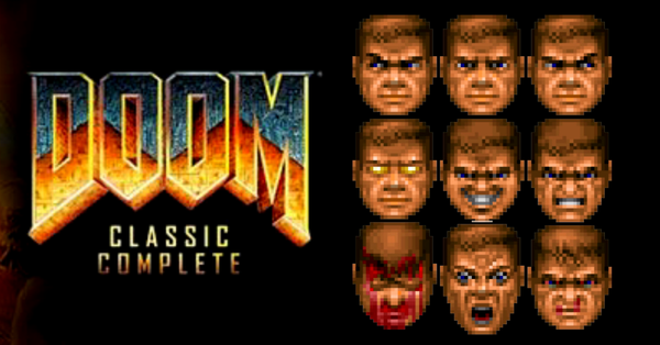 CLICK ABOVE  and grab the iconic PC game Doom… and relive all those nightmares again!