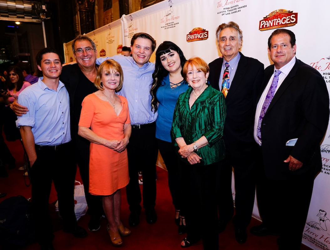 With Kenny Ortega at the 2017 Jerry Herman Awards Returning to Work with 2017 Nominees