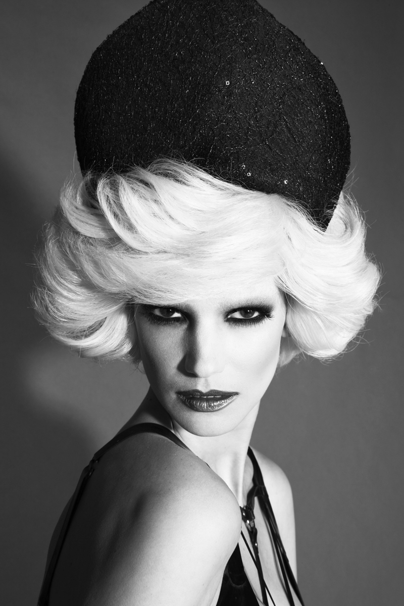 Headpiece  JR Malpere, Vintage Dress Versace