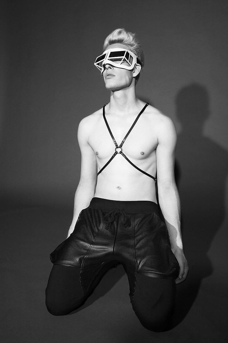 Harness  Nouveau , Pants  Cody Ross , Shoes & Sunglasses both  KTZ