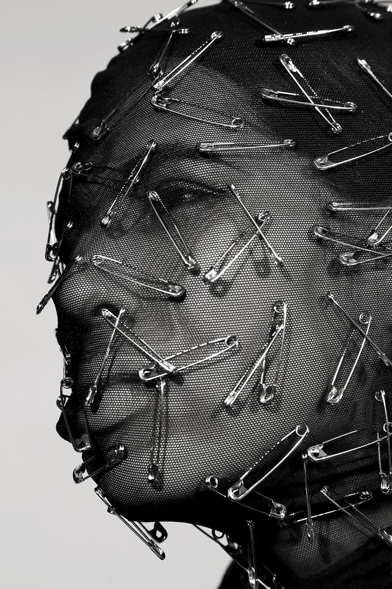 Mesh Safety Pin Mask By  Cheng-Huai Chuang