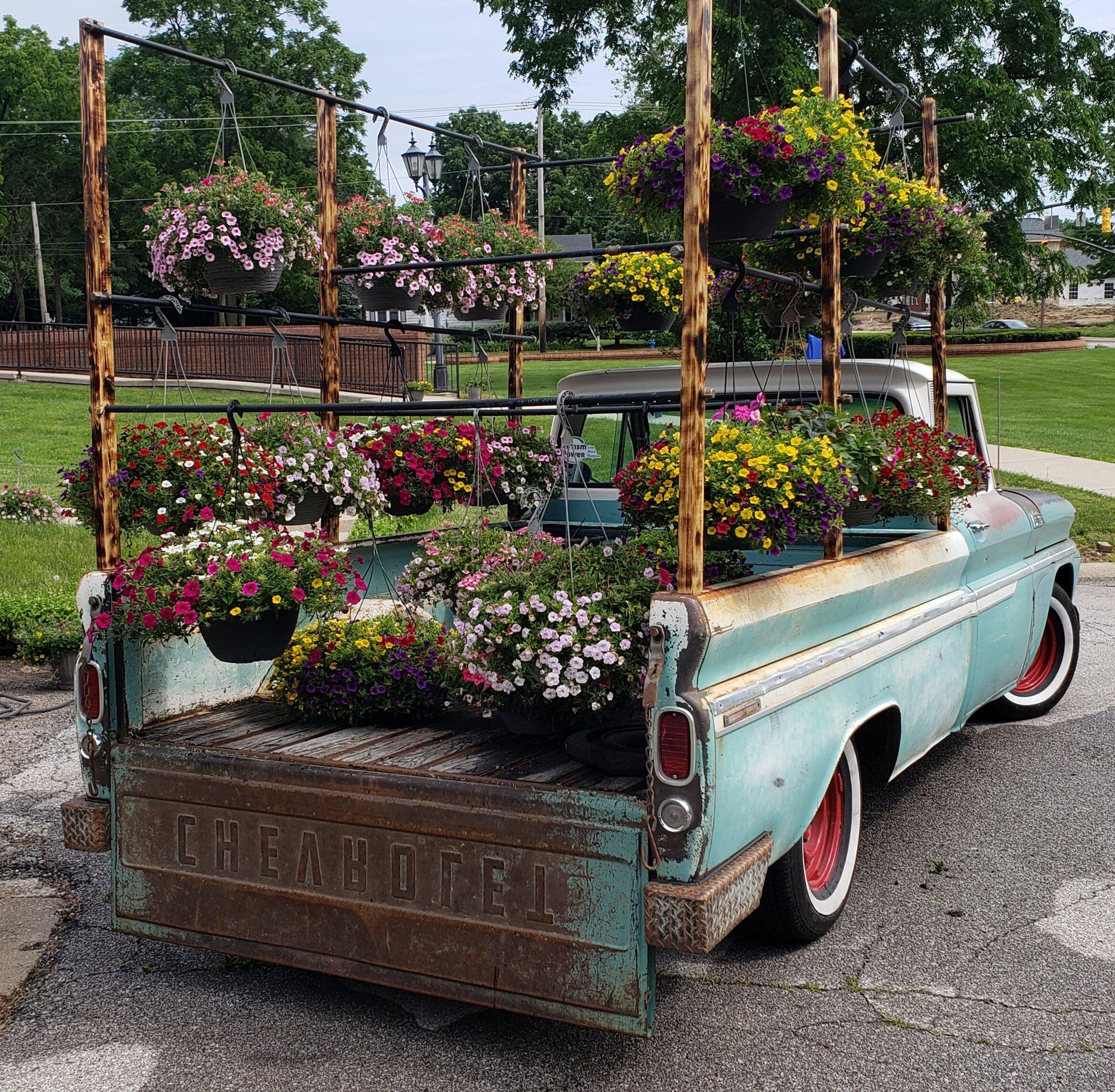 "Meet ""Beauty"" our Autism Power Flower Truck."