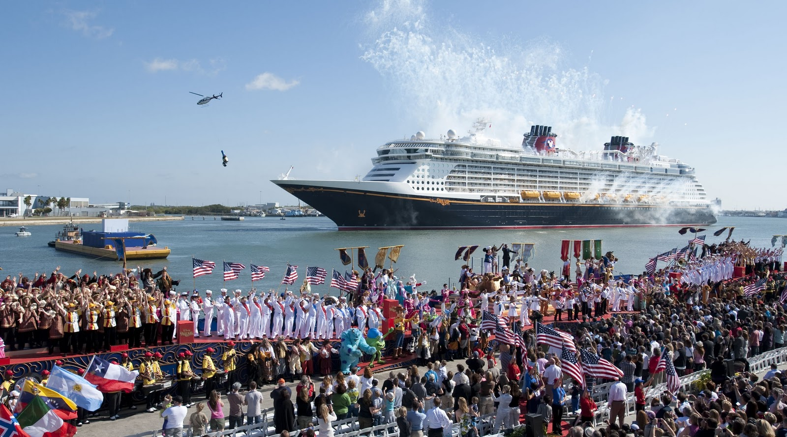 Disney Dream Christening Ceremony - Port Canaveral, FL