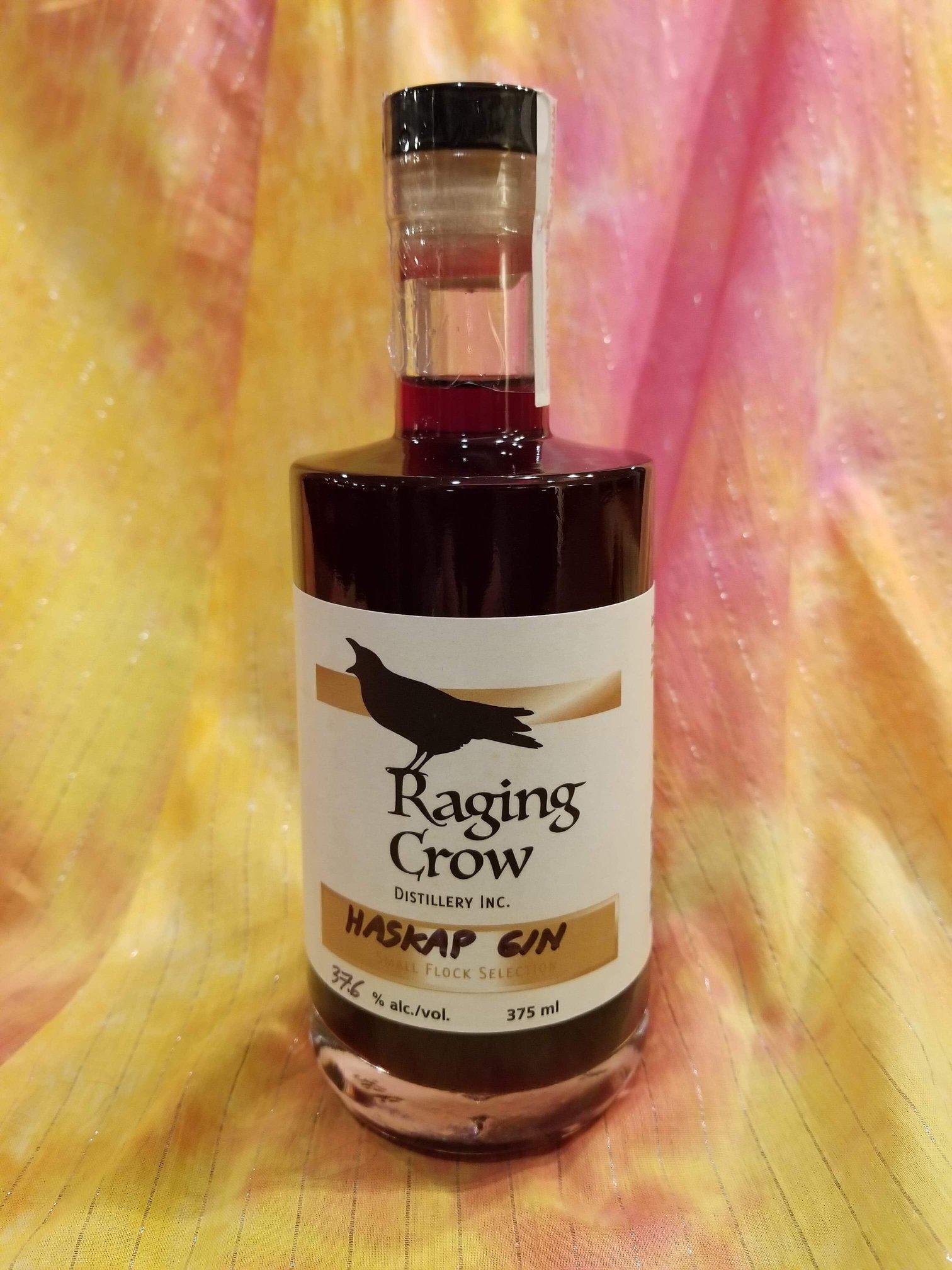 Haskap Martini - 1.5 ozs of Raging Crow Haskap GinSplash of VermouthZest of Lemon