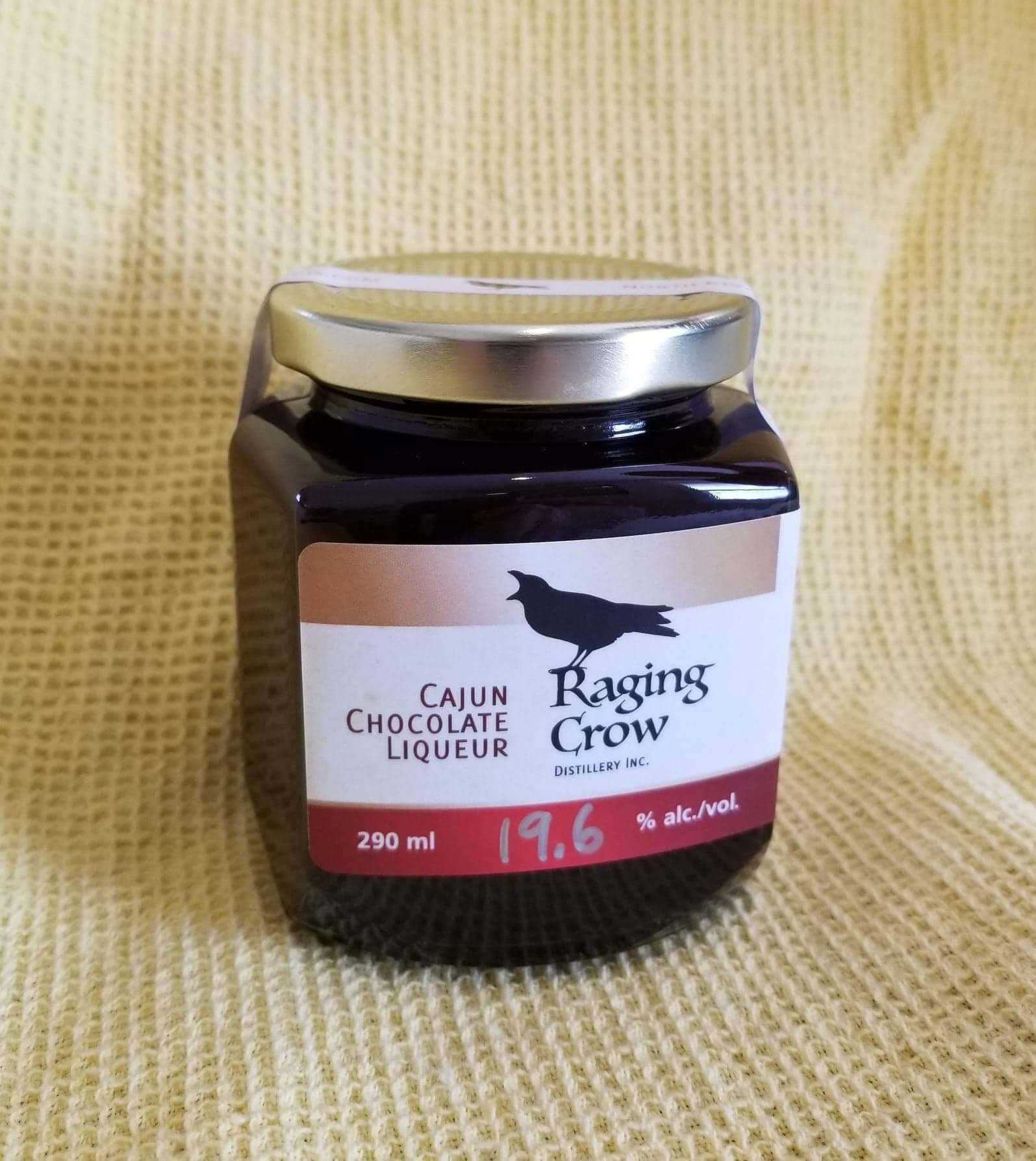 Raging Crow Grown-Up Hot Chocolate - 1 290ml jar of Raging Crow Cajun Chocolate Liqueur1 litre of milkHeat & enjoy!