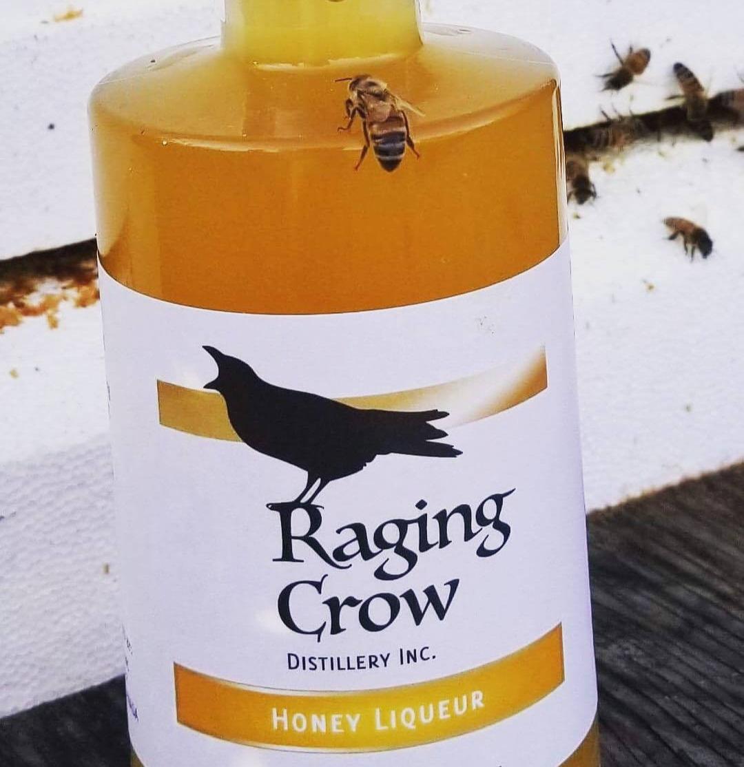 Raging CrowHoney LiqueurHot Toddy - 1 oz Raging Crow Black Crow 40.5% Dark Rum1 oz Raging Crow Honey Liqueur1 teaspoon lemon juice1/4 cup boiling water