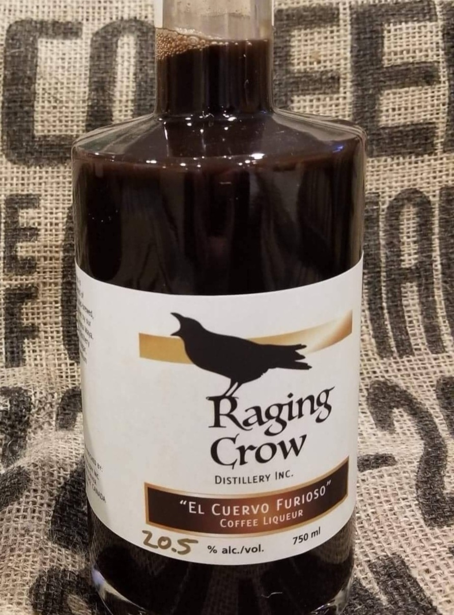 Ros' Better Baileys - 1 oz Raging Crow El Cuervo Furioso Coffee Liqueur1oz Baileys Irish Cream
