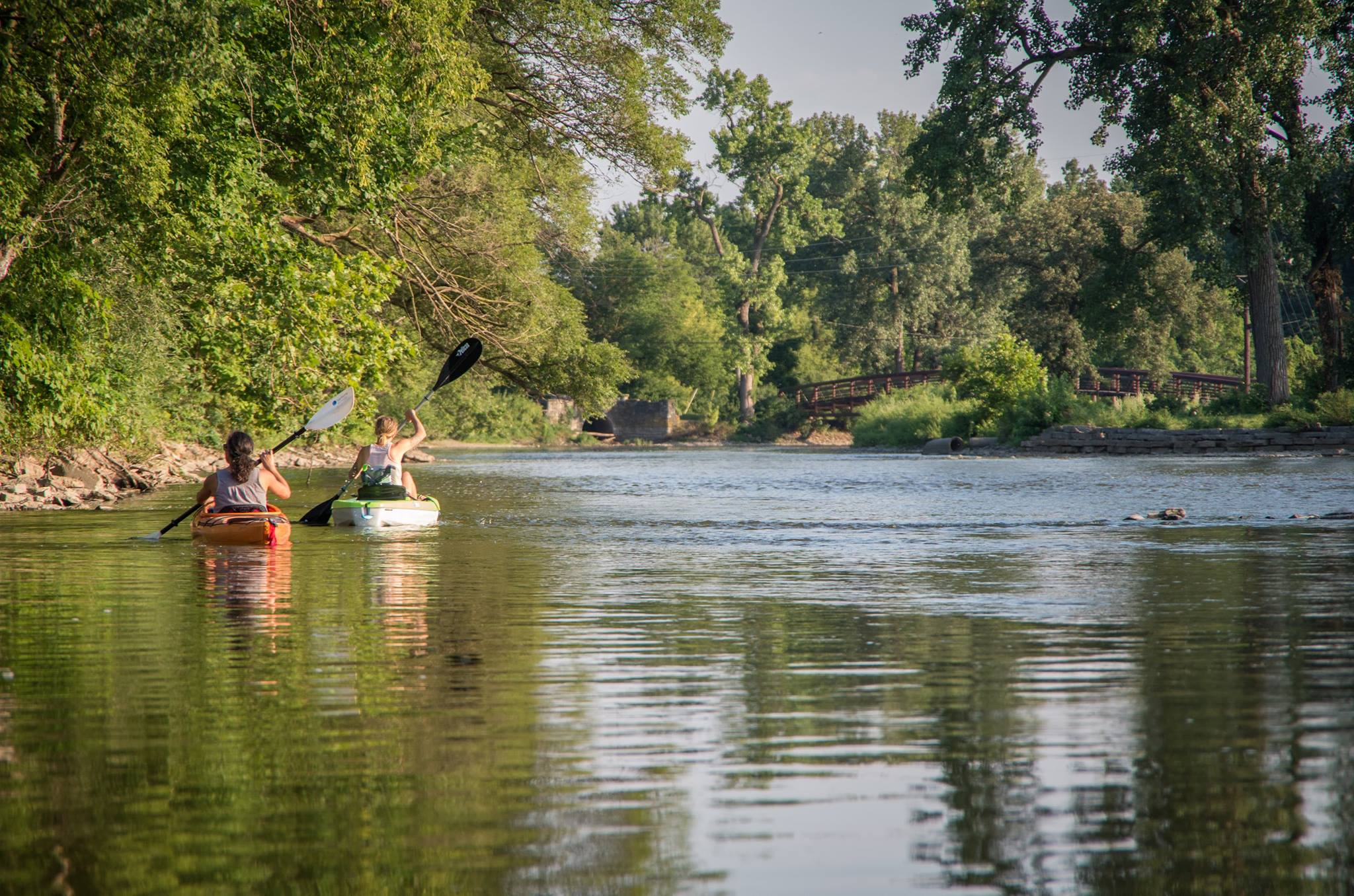 Fox River in Batavia Photo by: James Cardis
