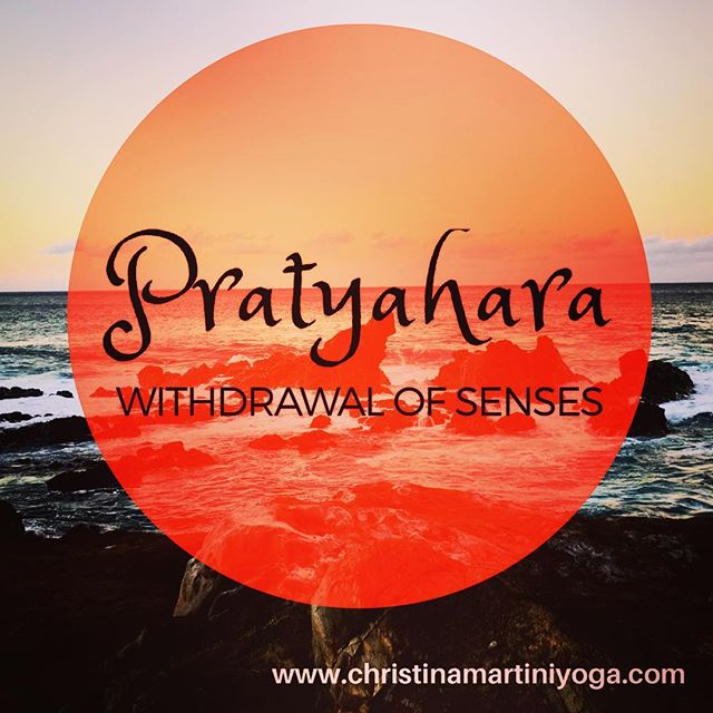 Obedience, Mastery, Knowledge reside within finding the application of Pratyahara regularly in our lives.
