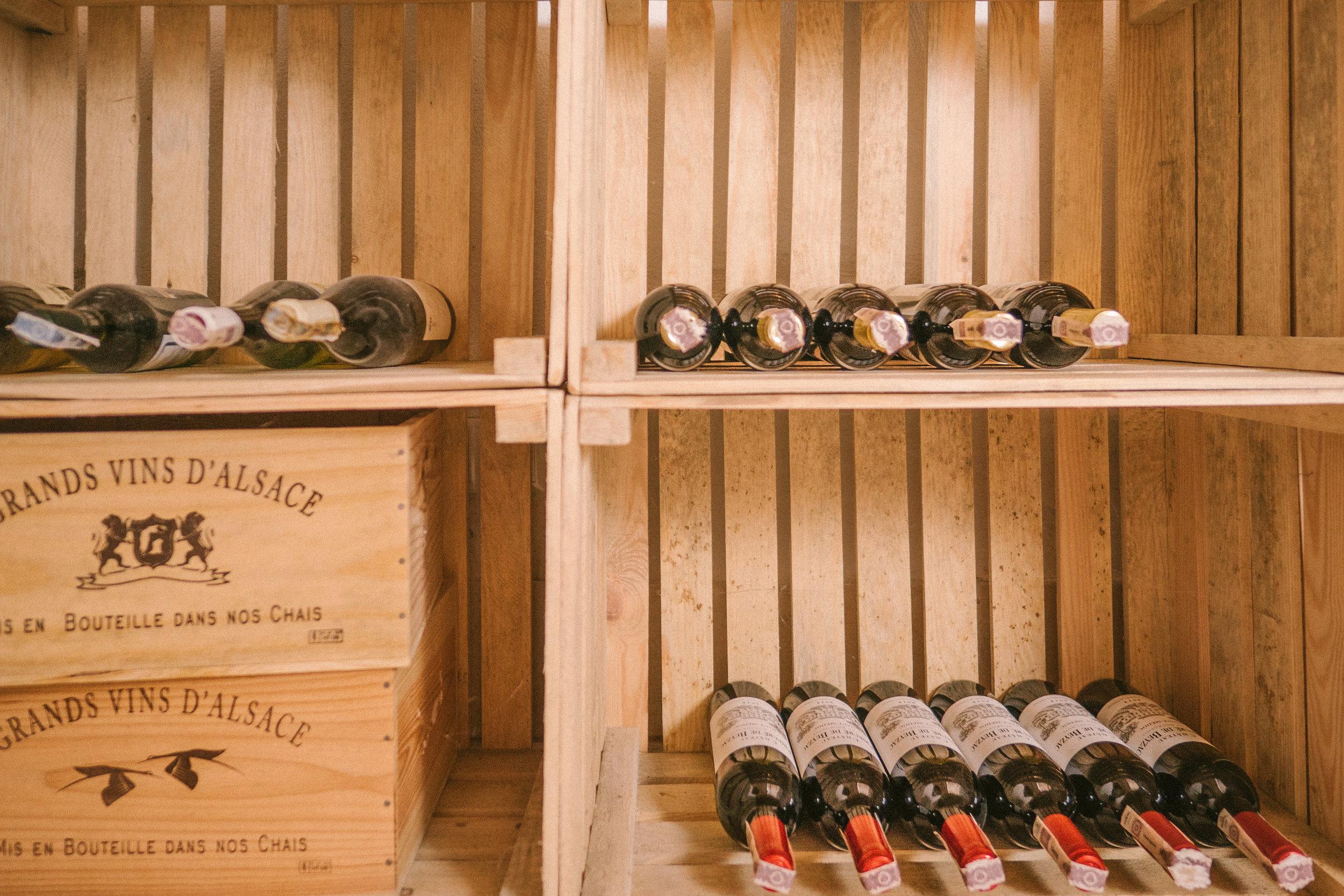 wino z piwnicy zamkowej