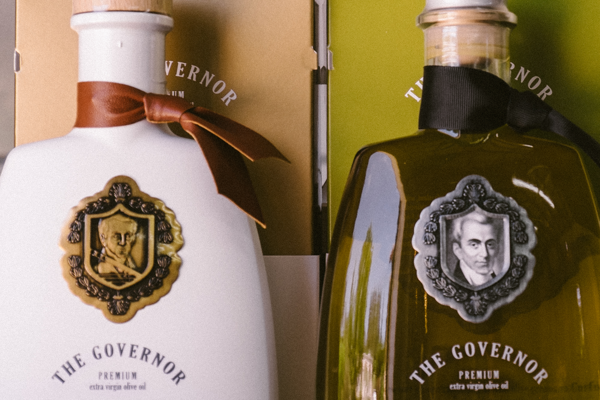 olive oil from the governor in corfu
