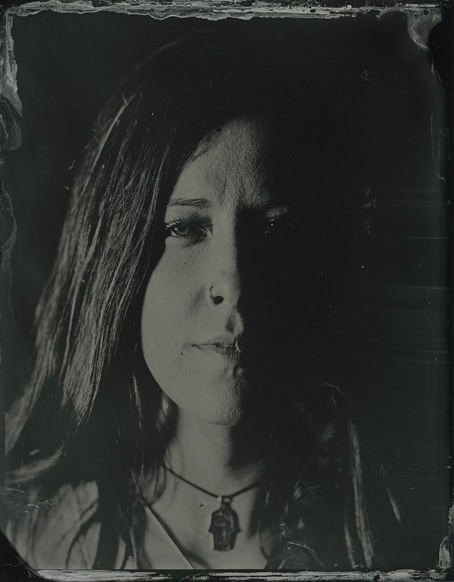 Julia, 2018 - Tintype