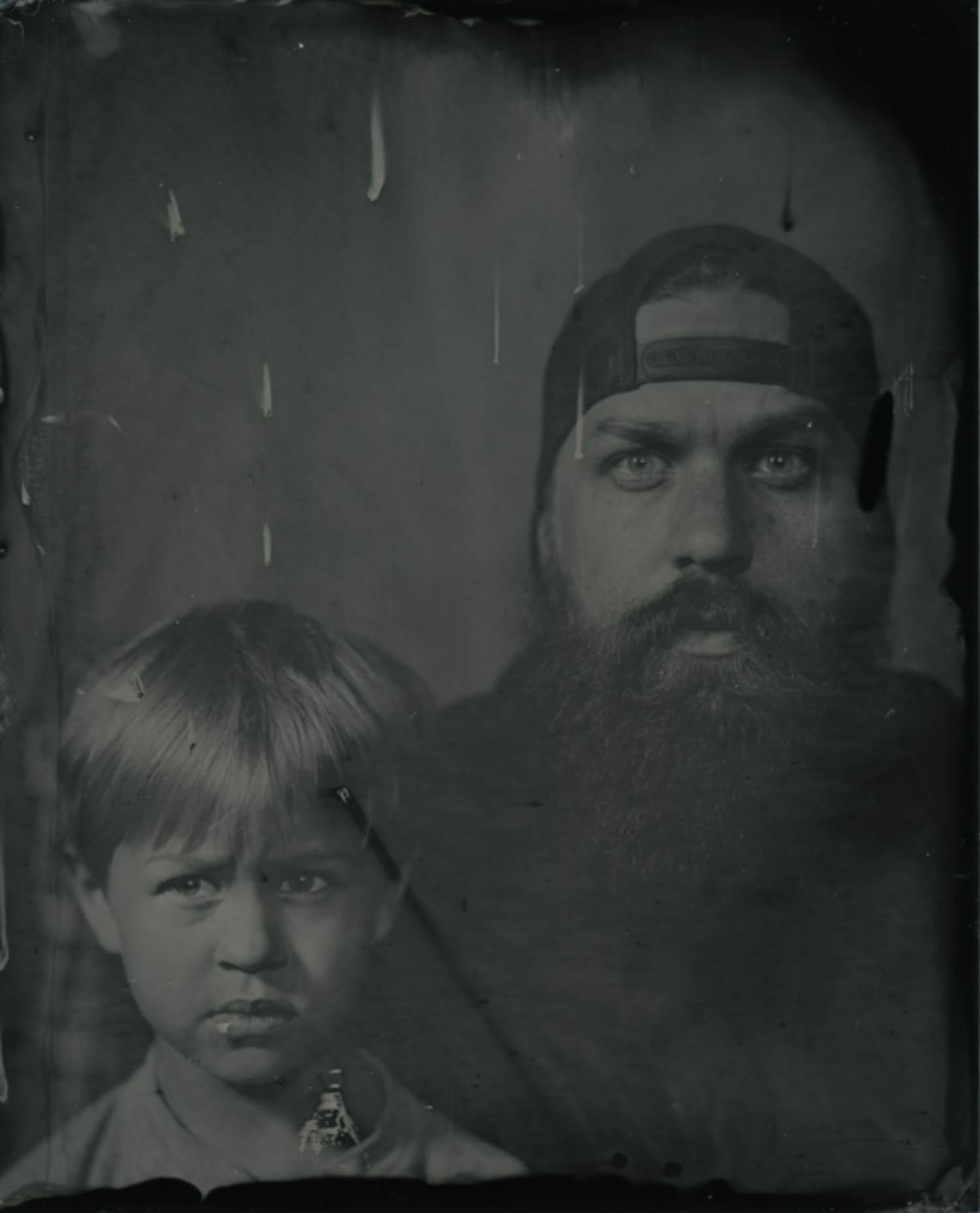Josh & Ollie, 2017 - Tintype