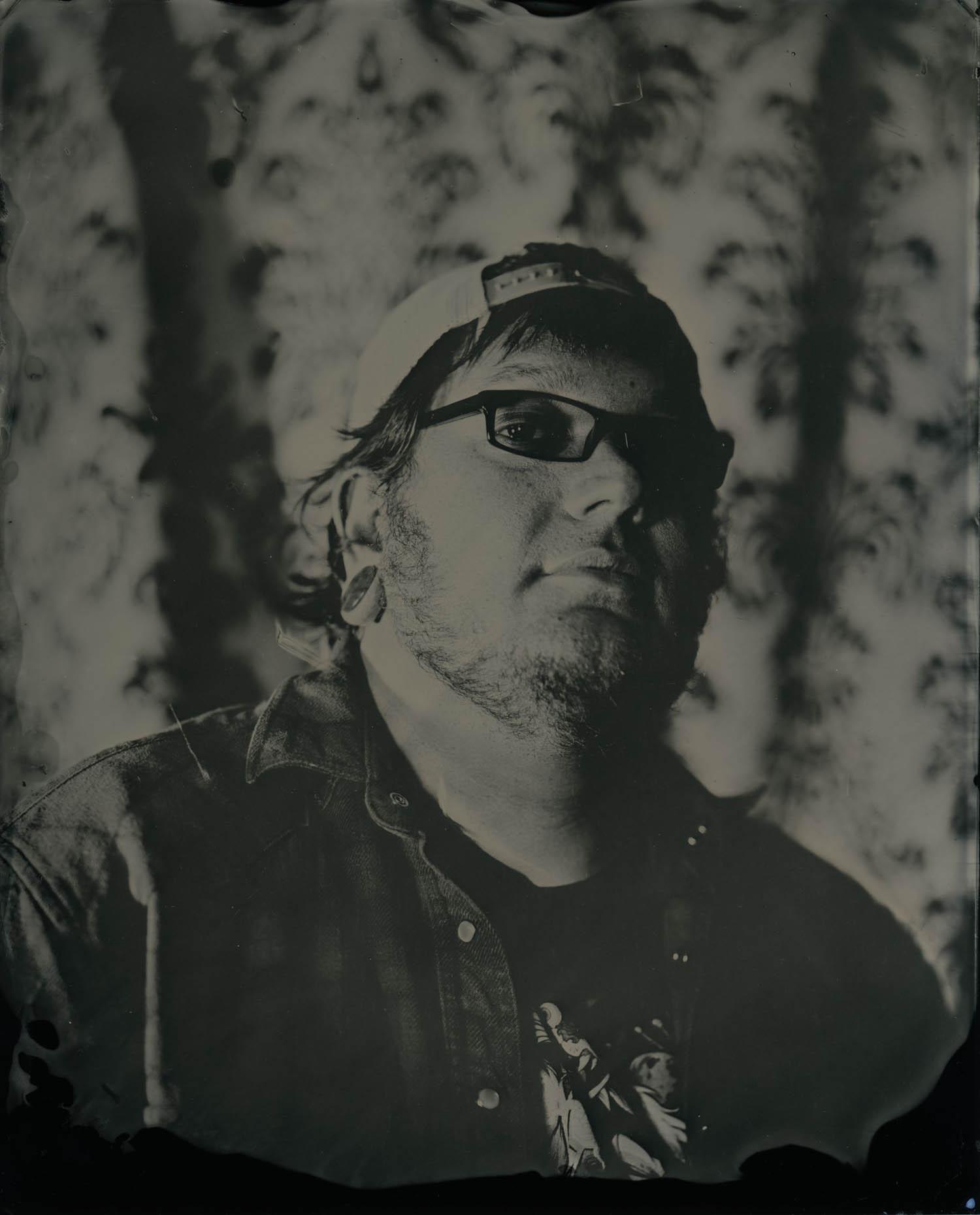 John, 2018 - Tintype