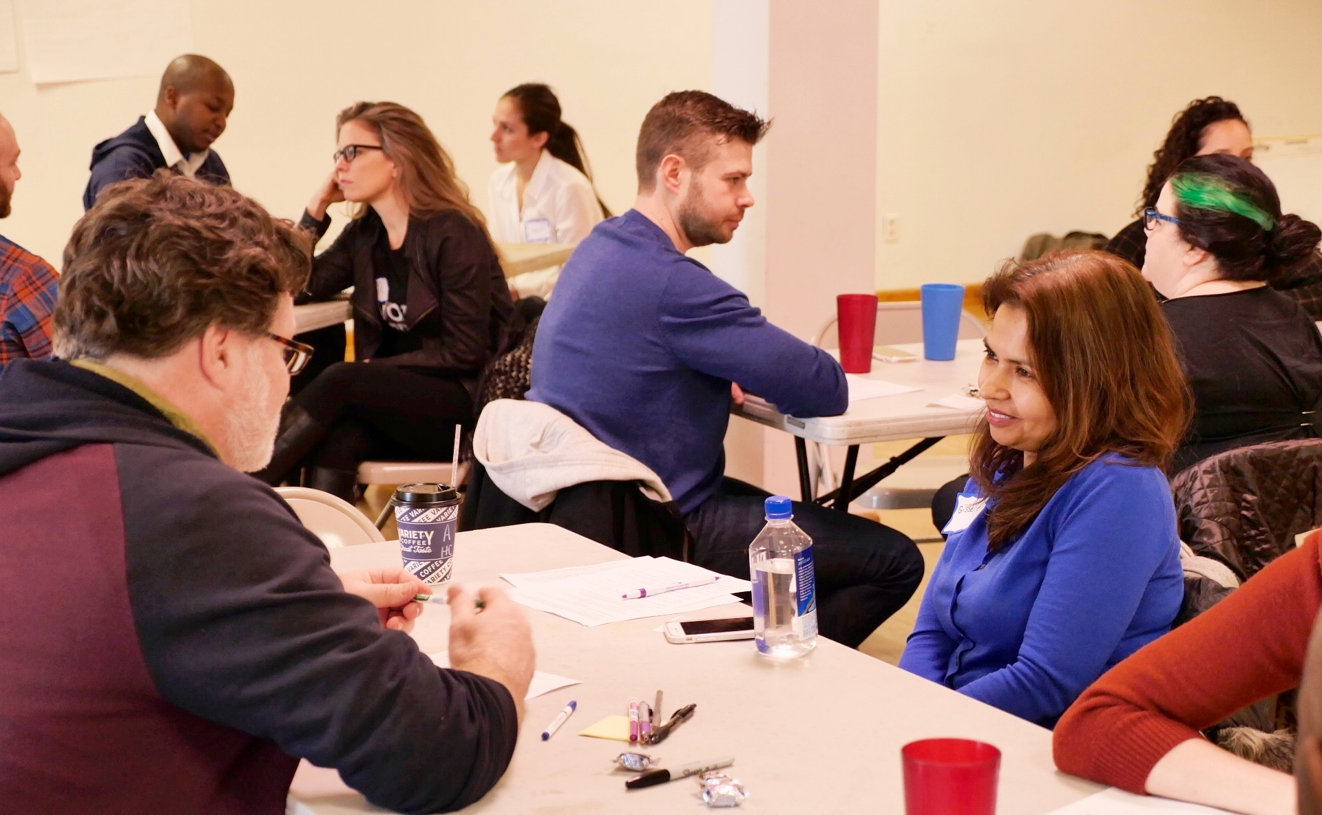 Above: Vision Workshop facilitators training.