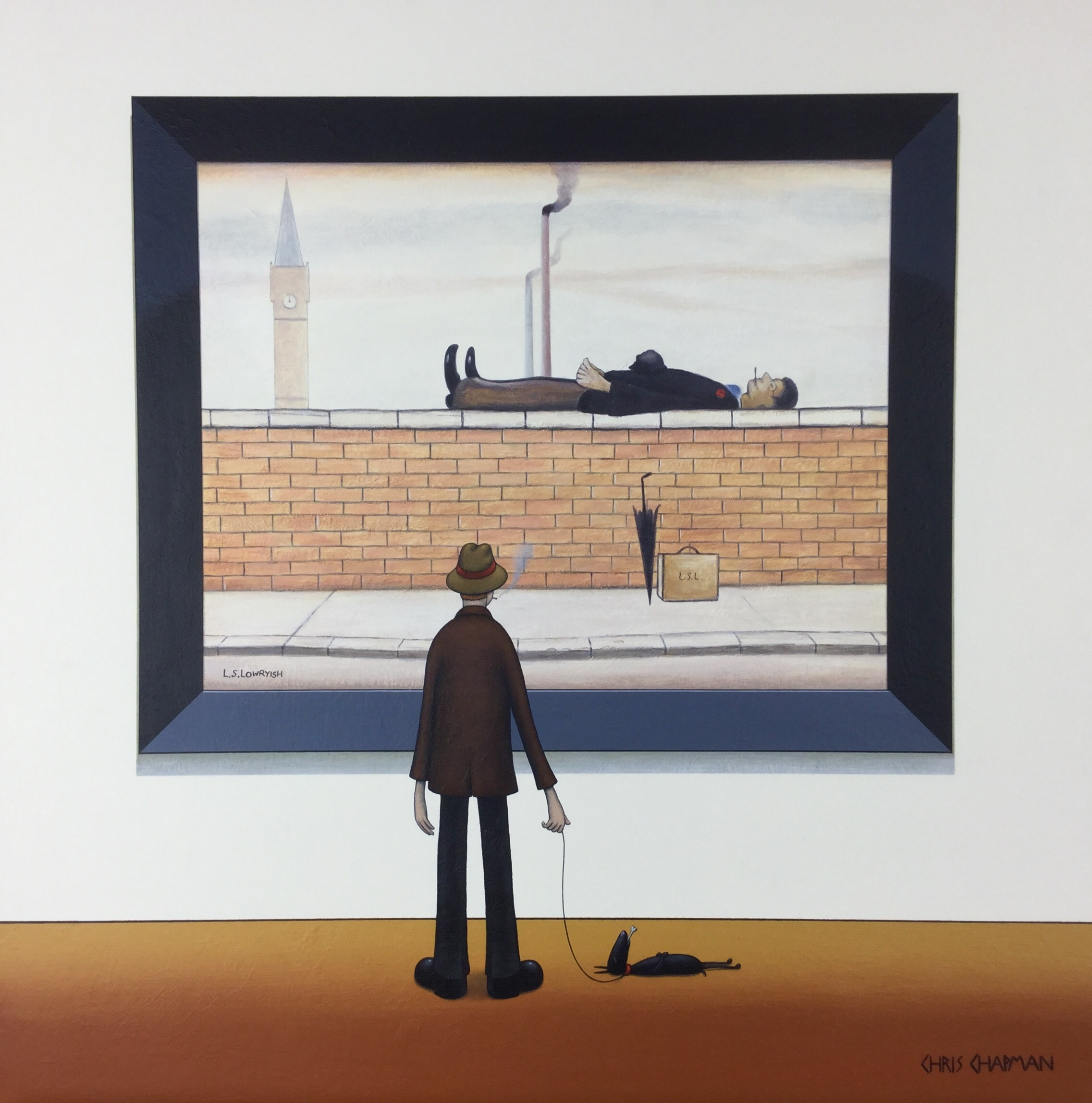 L.S. Lowryish - SOLD